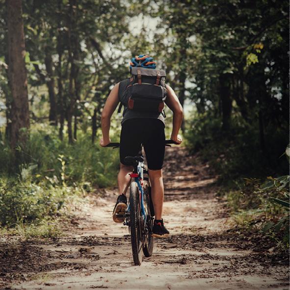 Greenway Voghera - Varzi: pedalando